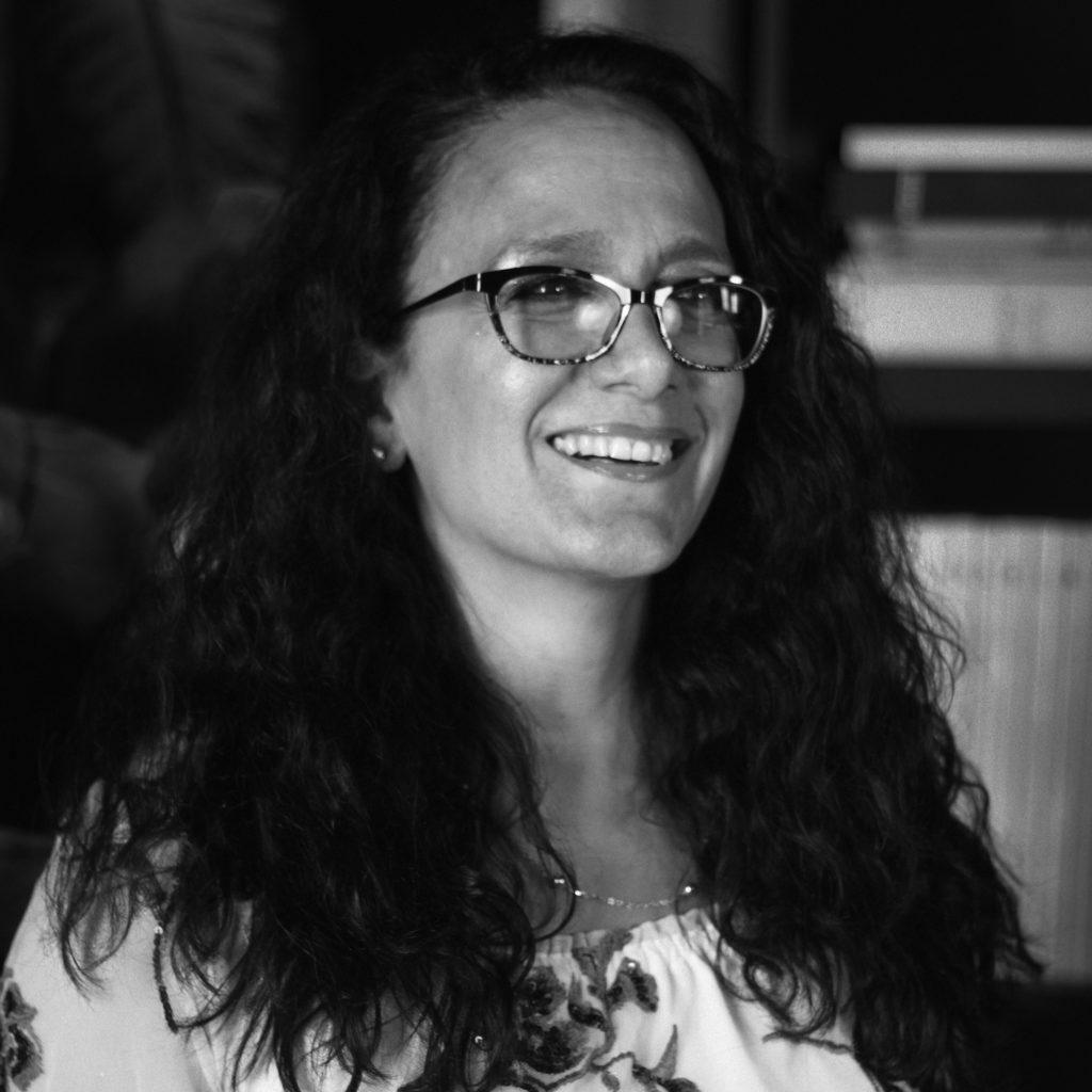 Headshot of board member Kathryn Asaro Mayers