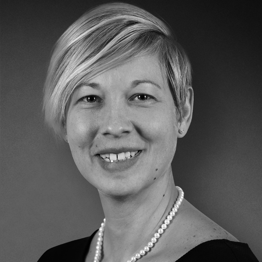 Headshot of board treasurer Veronica Bila